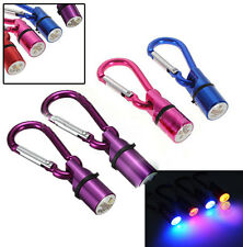 Aluminum Dog Cat Pet Safety Flashing Flash LED Light Collar Tag Waterproof CA1