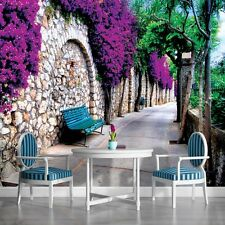 PHOTO WALLPAPER MURALS DECORATION NON WOVEN HOME ART NEW TREND GARDEN ALLEY 697P