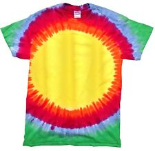 Tie Dye T-Shirts, Multi-Color, Kids, Youth S, Short Sleeve, 100% Cotton, Gildan