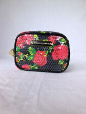 Betsey Johnson Cosmetic bag- Depth 2.5, Height 4.5, Length 6 & Multi-color