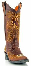 University Of Wyoming Gameday Boots Womens Cowboy Boots Pointy Toe Brown