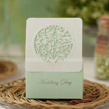 Laser Cut-out Wonderland Wedding Favor Boxes Candy Box Wedding Party Gift Boxes