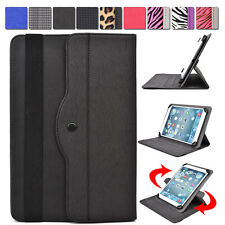 """AR1 Kroo 360 Degree Rotating Folding Folio Stand Cover fit 9"""" Tablet E-Reader"""