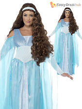 Size 8-22 Ladies Medieval Princess Game of Thrones Costume Womens Fancy Dress