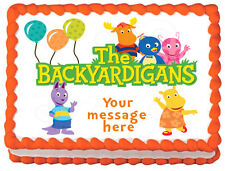 THE BACKYARDIGANS Image Edible Cake topper