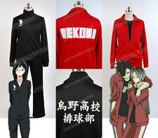 Haikyu!Karasuno/Nekoma High Volleyball Jersey Cosplay Costume Haikyuu Uniform