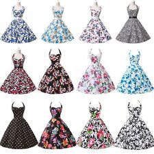 ❤CHEAP Clearance❤50s Style Vintage Dresses Party Rockabilly Bridesmaid DressGown