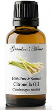 Citronella Essential Oil - 100% Pure and Natural - Free Shipping - US Seller!