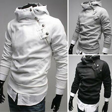 US Wholesale Mens Stylish Pullover Hooded Coat Jacket Overcoat Hoodies Tops S M