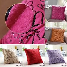 Fashion Love heart Decor Pillow Dot Case Cushion Cover Bed Home Room Sofa Office
