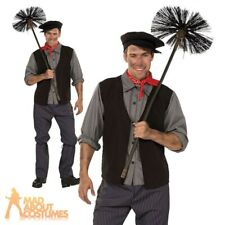 Mens Chimney Sweep Costume Bert Fancy Dress Book Day Week Outfit