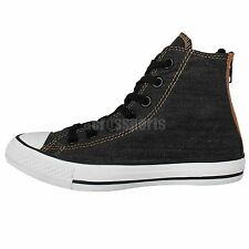 Converse Chuck Taylor All Star Back Zip Dark Grey Classic Casual Shoes