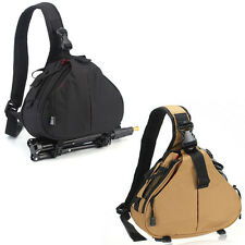 Fashion DSLR Camera Bag Case Messenger Shoulder Bag for Nikon Sony Canon Olympus