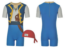 DISNEY Boys Jake & the Neverland Pirates Swim Sun Suit Costume Swimming Outfit
