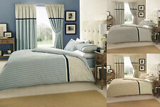 Valeria Duvet Cover Fitted Sheet And Curtains 8 Piece Bedding Set