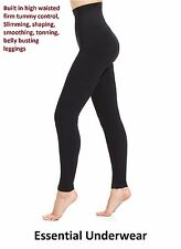 NEW SLIMMING HIGH WAISTED CONTROL LEGGINGS  EXTRA STRONG FIRM TUMMY SUPPORT,8-30