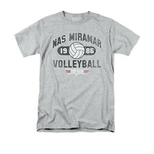 TOP GUN NAS MIRAMAR VOLLEYBALL Licensed Men's Graphic Tee Shirt SM-3XL