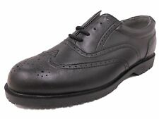 NEW! GRABBERS Mens 2313 Managers Wing Tip Slip Resistant Work Shoes