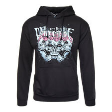 Official Hoodie BULLET FOR MY VALENTINE Black CROWN Band Hooded Top All Sizes