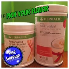 Herbalife Formula 1 Nutritional Shake Mix and Personalized Protein-Pick Flavor