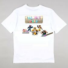 Stampylongnose & The Gang with Guest TDM Girls Boys T Shirt age 5 - 14