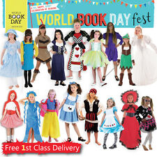 Girls Book Week Fancy Dress Costume Huge Choice Book Day Outfit Dress up 4-12 Y
