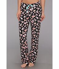 "STEVE MADDEN COTTON JERSEY ""SMASHING FLORALS"" PAJAMA/LOUNGE PANTS MED/FIT SMALL"