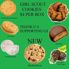 2015 New Boxes of Girl Scout Cookies, 7 flavors to choose from + a few Toffee