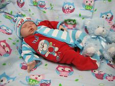 LIFE LIKE SUGAR BABY BOY DOLL BY DONNA RUBERT NEW REBORN REALISTIC FAKE BABY