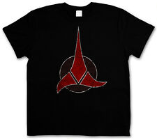 VINTAGE LOGO KLINGON T-SHIRT - Klingonen Symbol TV Enterprise Star Trek T-Shirt