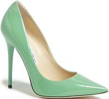 Jimmy Choo ANOUK PATENT LEATHER SEXY POINTY TOE PUMPS EU 38.5 US 7.5