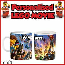 New Lego Movie Tea Mugs Cups Personalised Special Childrens Kids Birthday Gifts