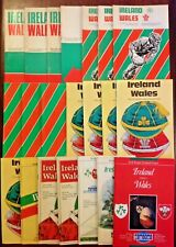 Ireland v Wales Rugby Programmes 1963 - 2000