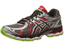 Asics Men's Gel-Nimbus 16 - Titanium/Black/Red (T435N.9790)