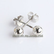 Stud Earrings No Stone 18KGP