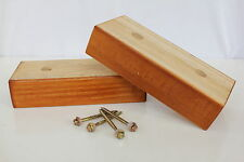 Brand New BALTIC Rectangular shape timber feet (4cm) for Lounge Couch Bed Chair