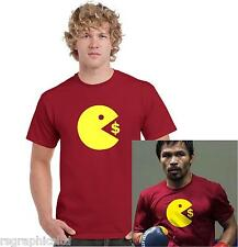 Manny Pacquiao T-Shirt Size PACMAN dollar mayweather Boxing ALL SIZES! free post