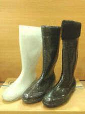 NEW G&G Womens Rain Boots Wellie Waterproof  Rubber Shoes Knee Jelly Ladies Size