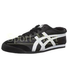 Mens Onitsuka Tiger Mexico 66 Black/White Trainers Leather Shoes Size
