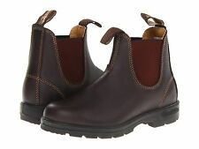 New BLUNDSTONE AUSTRALIA Men's 550 Walnut Brown Leather Ankle Boots