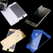 Color's Mirror Effect Color Tempered Glass Screen Protector For iphone 6 , 6plus
