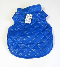 Dog Winter Coat Jacket XS Extra Small Blue Padded Puffer Warm Pet Clothes
