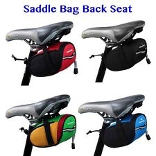 Saddle Bag Back Seat Outdoor Cycling Mountain Bike Bicycle Tail Pouch Sport