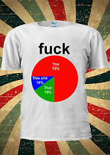 F * CK YOU TSHI SH * t che% FUNNY Tumblr T SHIRT uomini donne unisex 1817