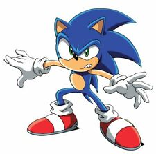 SONIC Round Frosting Edible Cake Image