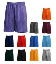 Men's Mesh Athletic Gym Fitness Workout Colors Shorts MADE IN USA LA Speedy