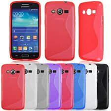Silicone Rubber Gel S Line Case Cover Skin For Various Samsung Galaxy Phones
