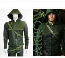 Halloween New Green Arrow Oliver Queen Cosplay Costume Clothing And Accessories