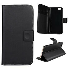 BLACK Luxury PU Leather Wallet Flip Case Cover Cover For Huawei Ascend Series