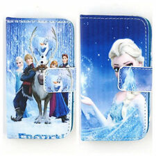 Frozen Elsa PU Leather Flip Wallet Cover Case Skin for iPod Touch 4 4G 5 5G